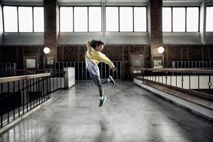 Lilyana Ilunga, a 9-year-old dance prodigy, stars in a new campaign by the Swedish monarchy to get kids moving. (Photo: Generation Pep)
