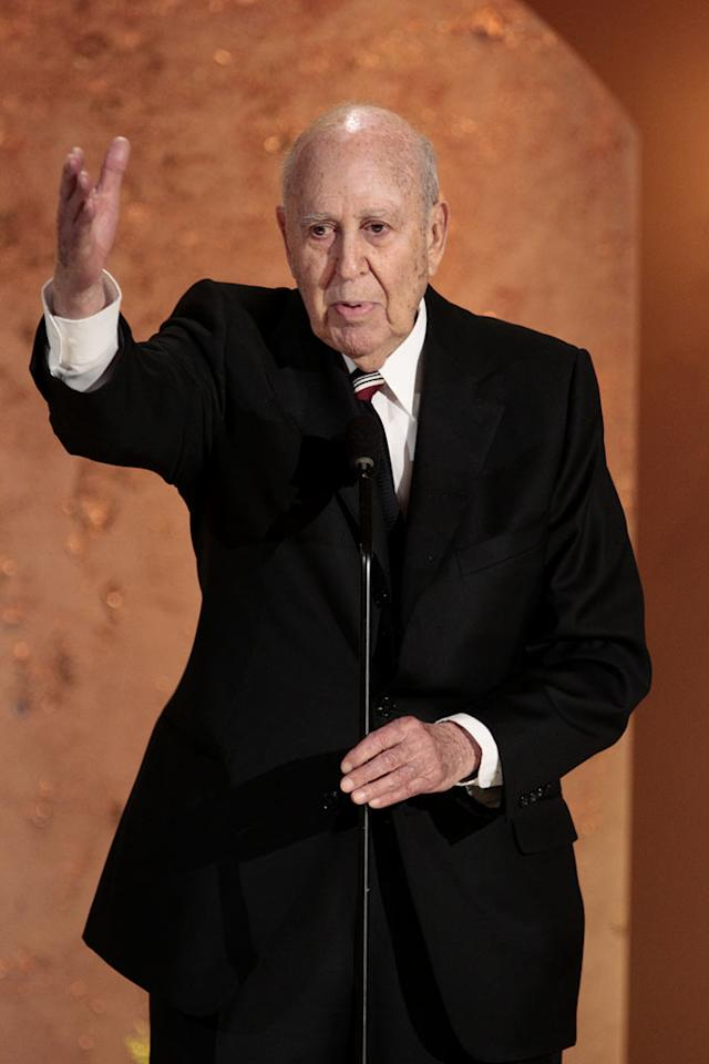 "Carl Reiner on ""Betty White's 90th Birthday: A Tribute to America's Golden Girl"""