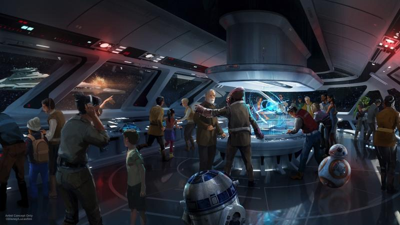AT D23 EXPO 2017, DISNEY PARKS CHAIRMAN BOB CHAPEK ANNOUNCES NEW STAR WARS-THEMED HOTEL FOR WALT DISNEY WORLD RESORT -- During D23 Expo 2017, Walt Disney Parks & Resorts Chairman Bob Chapek announced plans to create the most experiential concept ever in an immersive Star Wars-themed hotel at Walt Disney World Resort. Dedicated entirely to the galaxy of Star Wars, it will be a one-of-a-kind experience where a luxury resort meets a multi-day adventure in a galaxy far, far away. (Joshua Sudock/Disneyland Resort)