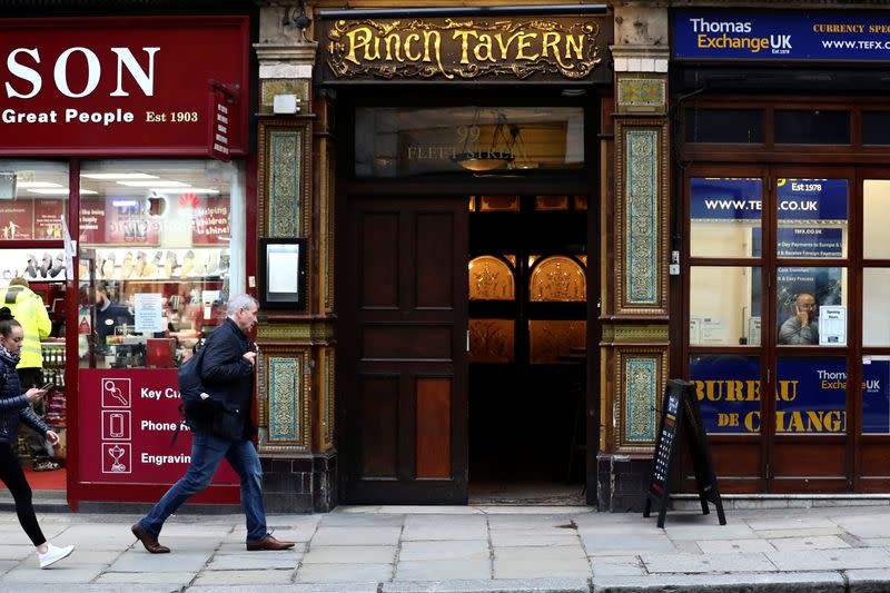Forget propping up the bar in the pub for a bit, Gove says