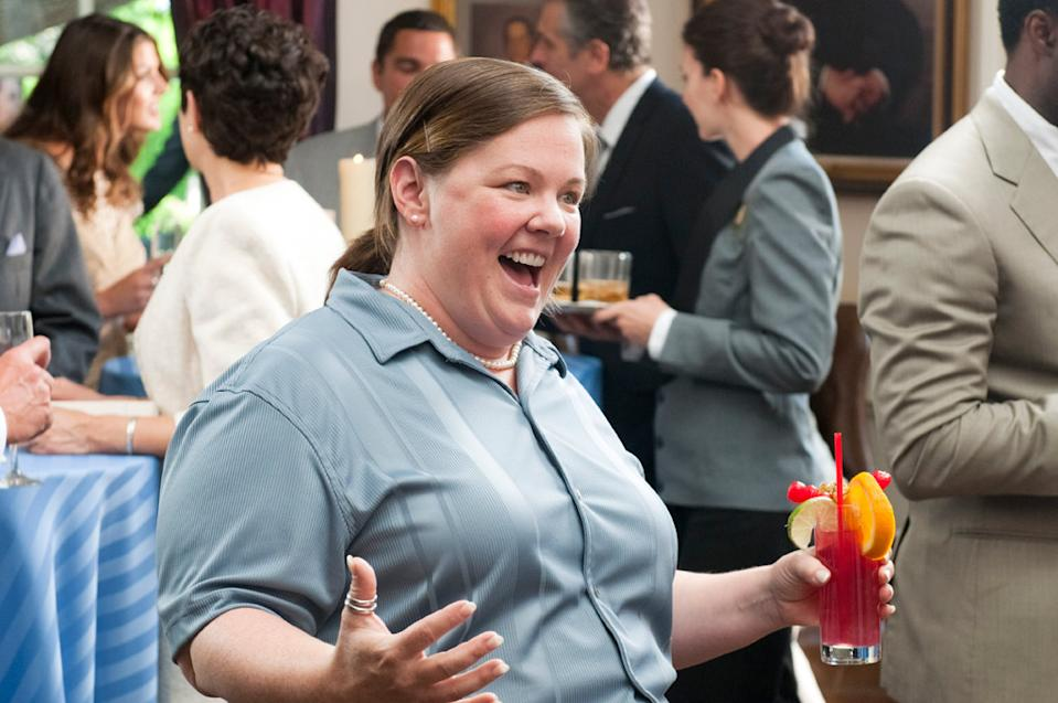 """Melissa McCarthy, is nominated for best supporting actress for """"Bridesmaids."""""""