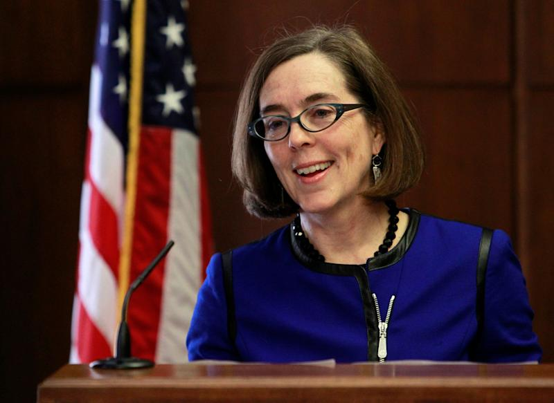 Kate Brown is running for reelection as Oregon's governor.