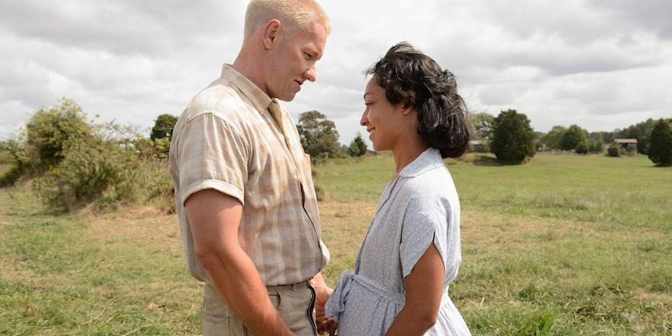 "<p>Joel Edgerton and Ruth Negga team up to play real-life couple Richard and Mildred Loving in this Jeff Nichols biopic, about an interracial couple whose marriage would be the catalyst for changing miscegenation laws when their case goes all the way to the Supreme Court. <a class=""link rapid-noclick-resp"" href=""https://www.amazon.com/dp/B01N42ECGC?tag=syn-yahoo-20&ascsubtag=%5Bartid%7C10056.g.6498%5Bsrc%7Cyahoo-us"" rel=""nofollow noopener"" target=""_blank"" data-ylk=""slk:Watch Now"">Watch Now</a></p>"
