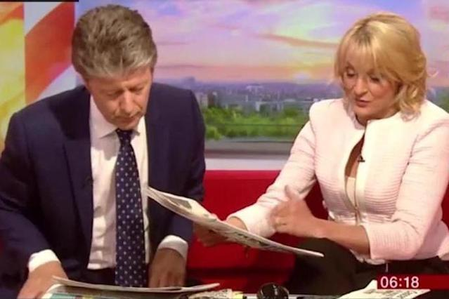 BBC Breakfast host Louise Minchin denies cheating in triathlon by 'drafting'