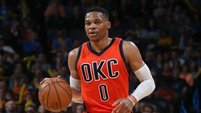 Oklahoma City Thunder guard Russell Westbrook broke Oscar Robertson's triple-double record in the NBA on Sunday.