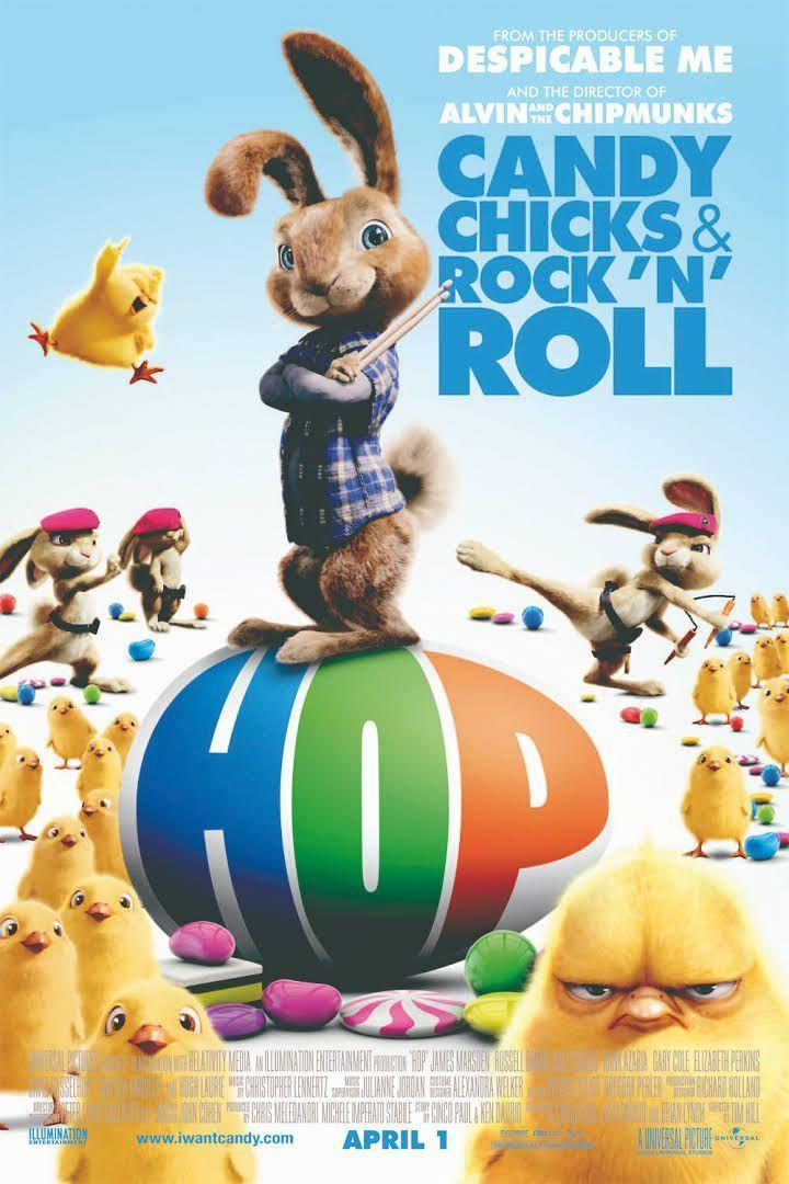 """<p>The Easter bunny's son, voiced by Russell Brand, is all grown up and pursuing a rock 'n' roll career in Hollywood in this comical coming-of-age tale. </p><p><a class=""""link rapid-noclick-resp"""" href=""""https://www.amazon.com/Hop-James-Marsden/dp/B07MGSD3H6?tag=syn-yahoo-20&ascsubtag=%5Bartid%7C10050.g.15928562%5Bsrc%7Cyahoo-us"""" rel=""""nofollow noopener"""" target=""""_blank"""" data-ylk=""""slk:STREAM NOW"""">STREAM NOW</a></p>"""