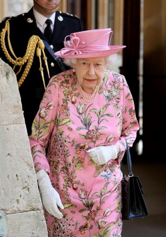 It marked the monarch's first in-person meeting with a foreign leader in more than a year