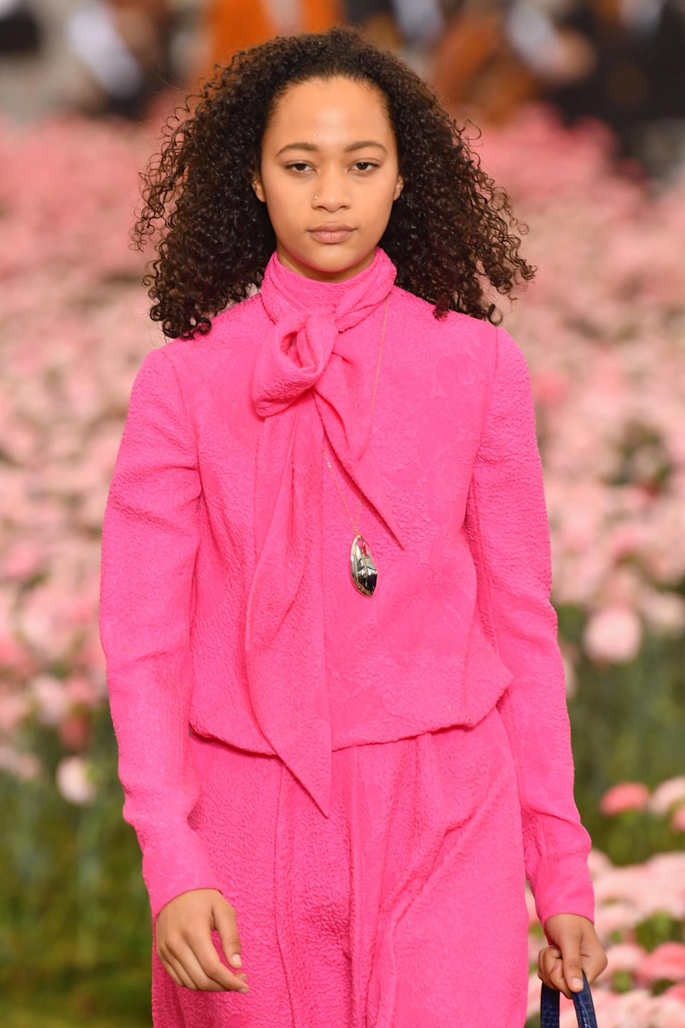 <p>There's nothing like free-flowing curls. (Photo: Getty Images) </p>