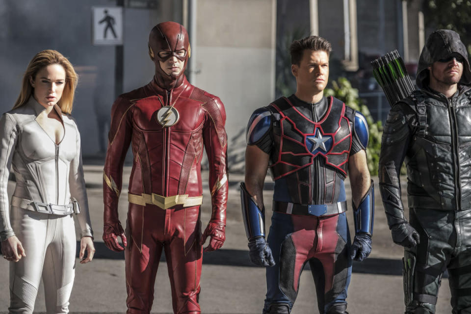 The CW's army of DC-derived superheroes will be invading SDCC. (Photo: Bettina Strauss/The CW)