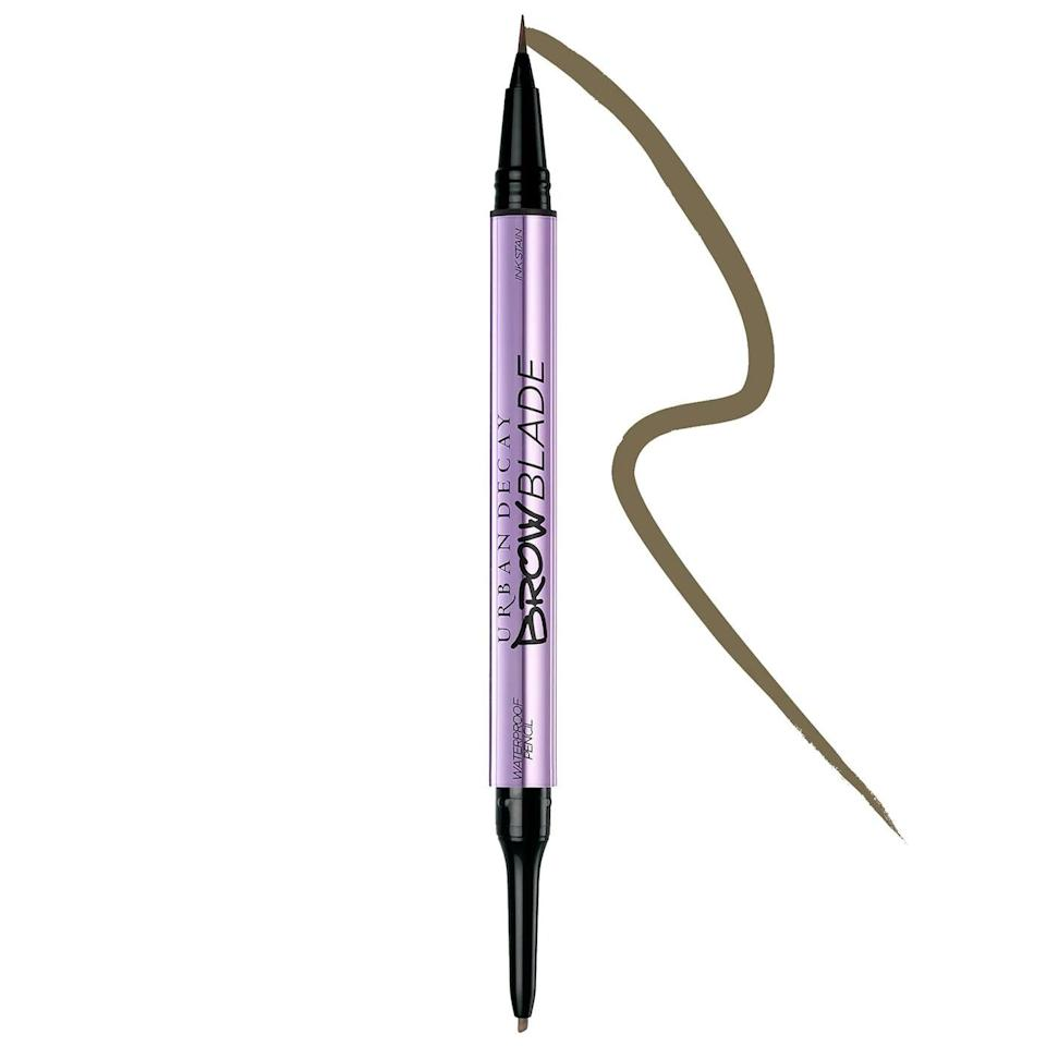 <p>Get the perfect brow that stays all day long with the <span>Urban Decay Brow Blade Waterproof Eyebrow Pencil</span> ($13, originally $26).</p>