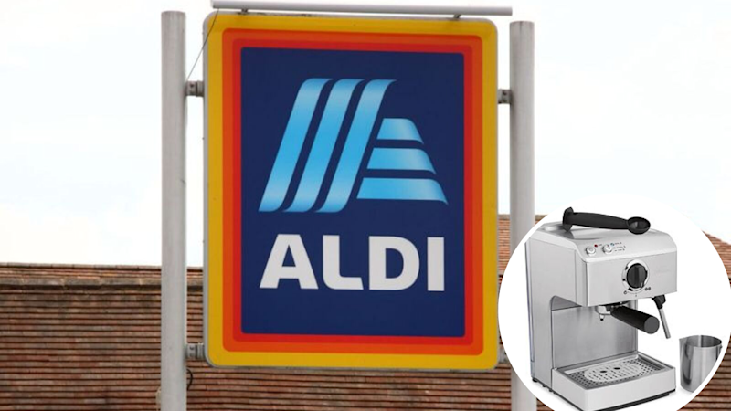 Aldi is selling a $139 coffee machine. Enjoy. Source: Getty/Aldi
