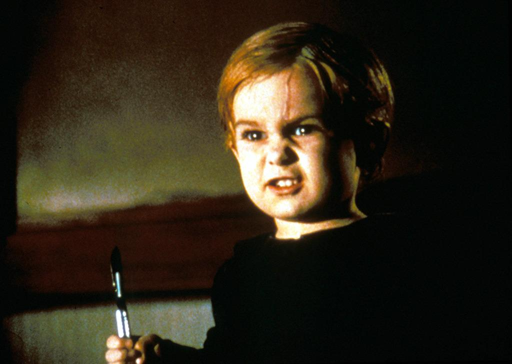 <p>He's the cute toddler in 1989's 'Pet Sematary' who dies horrifically after getting hit by a tractor-trailer. Based on a Stephen King novel of the same name, little Gage (played by Miko Hughes) comes back from the dead and does more than haunt: He kills.  (Photo: Rex)<br /></p>