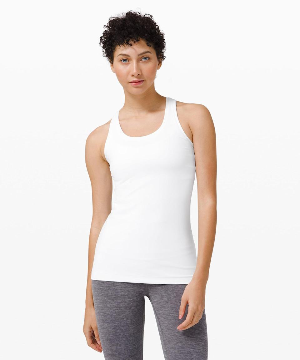 <p>The <span>Lululemon Cool Racerback II *Nulu</span> ($48) is the ultimate workout tank. It's great on it's own or as a layering piece.</p>