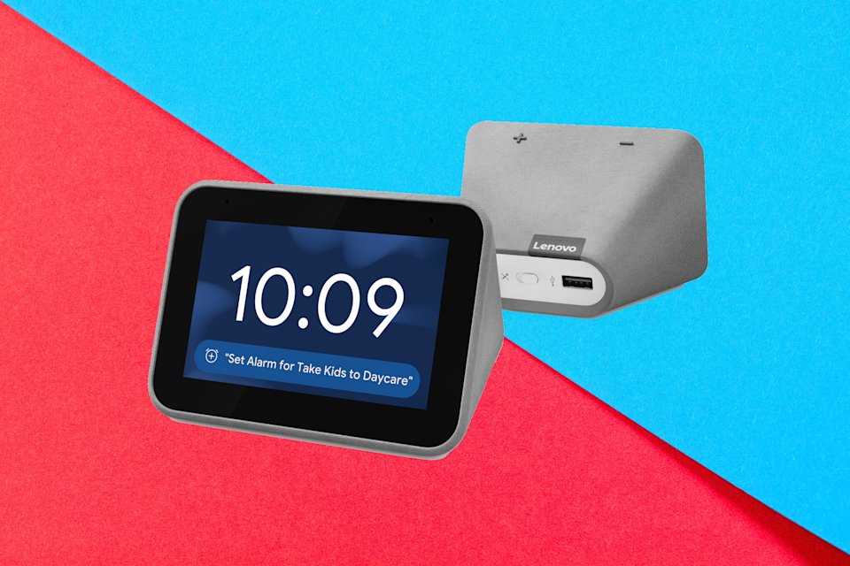 Save 51 percent on the Lenovo Smart Alarm Clock. (Photo: Walmart)