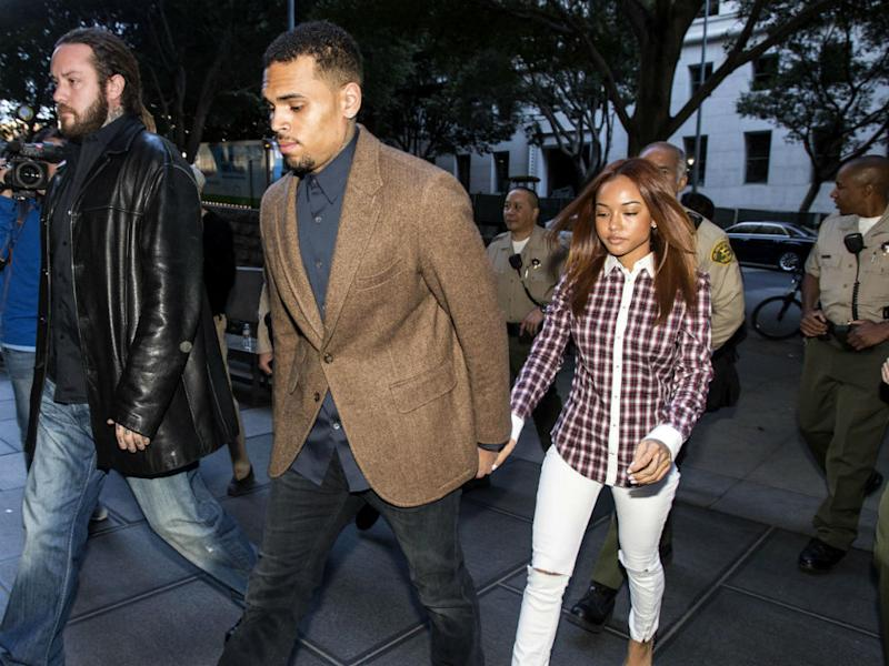 Chris Brown 'moving in with Karreuche'