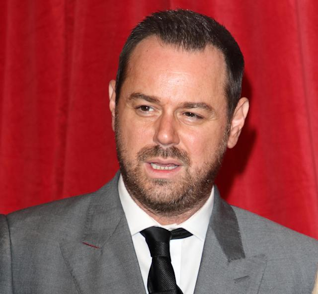Danny Dyer arrives on the red carpet during The British Soap Awards 2019 at The Lowry, Media City, Salford in Manchester. (Photo by Keith Mayhew/SOPA Images/LightRocket via Getty Images)