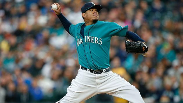 <p>Felix Hernandez injury update: Mariners star hit in pitching arm by line drive</p>