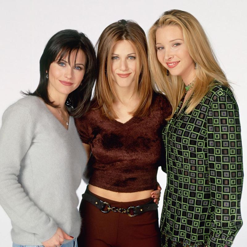 From left: Courteney Cox, Jennifer Aniston and Lisa Kudrow | NBCU Photo Bank/Getty Images