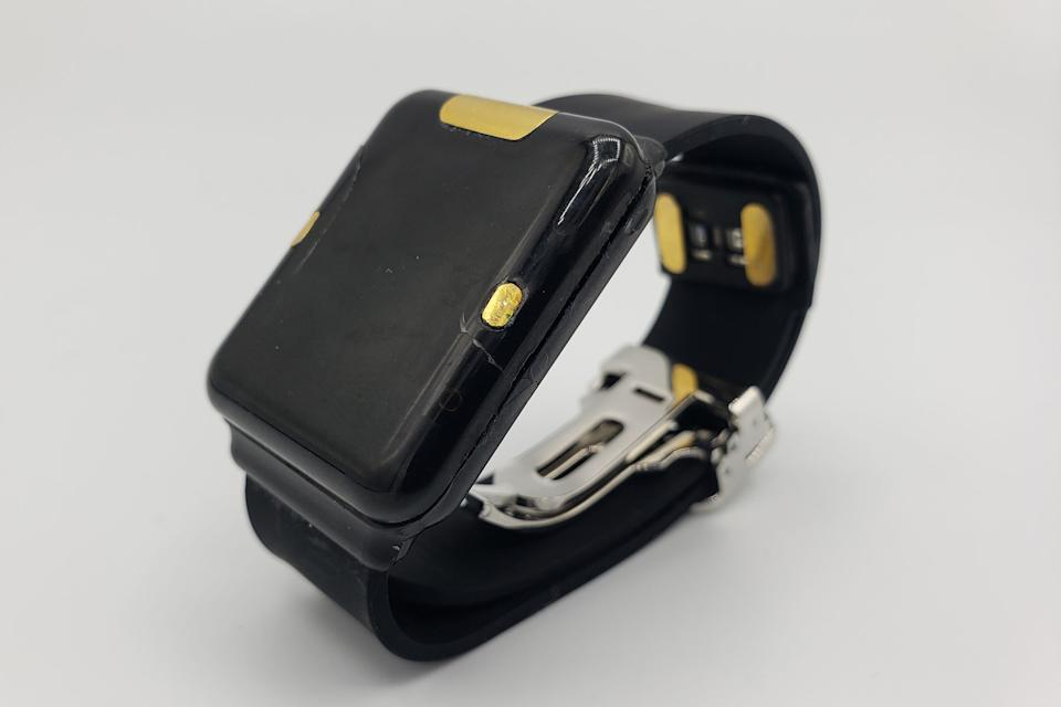 Image of the Quantum Operation Inc prototype blood glucose monitor.