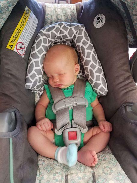 PHOTO: Erin Holley resides in South Carolina, which had the highest number of heatstroke deaths in 2018, according to KidsAndCars.org. (Erin Holley)