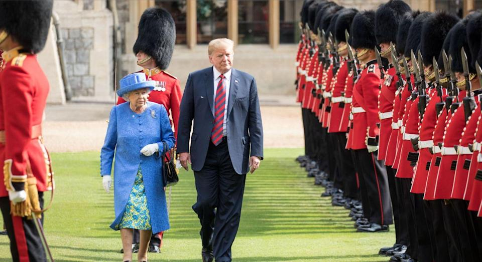 Donald Trump will visit the UK next week. [Photo: Getty]