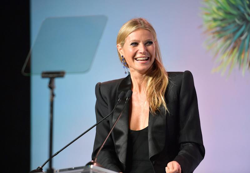 """I've been in relationships with men who had intimacy issues,"" Gwyneth Paltrow says."