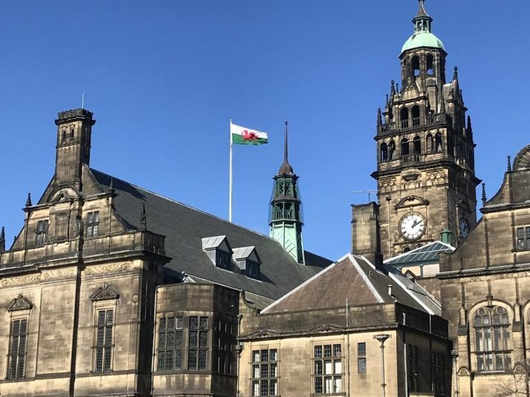 Sheffield Council apologises for flying Welsh flag on St Patrick's Day