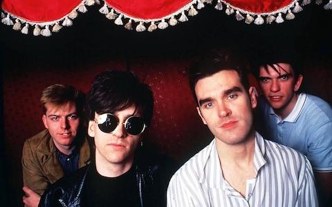 The Smiths - Credit: Stills Press Agency/ Rex Features