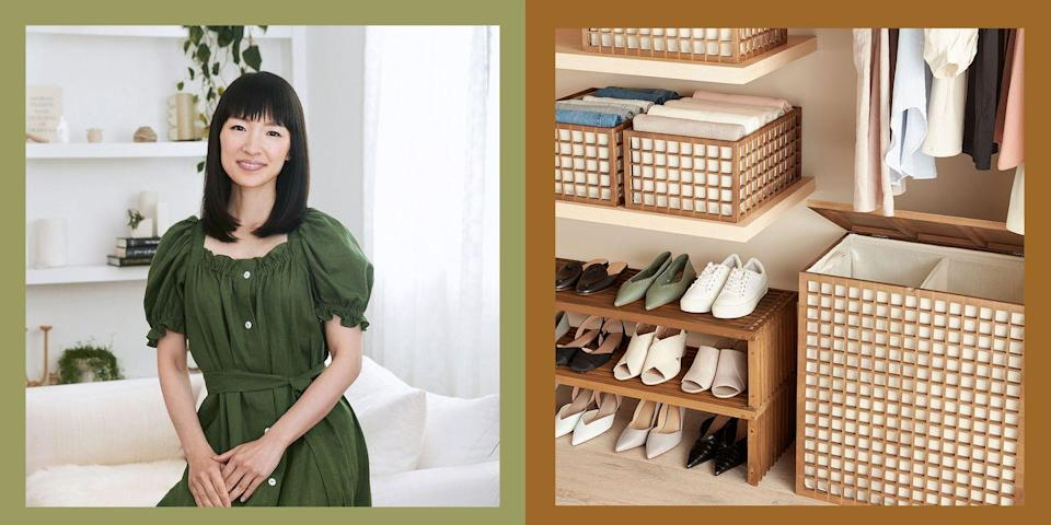 Photo credit: Courtesy The Container Store x KonMari