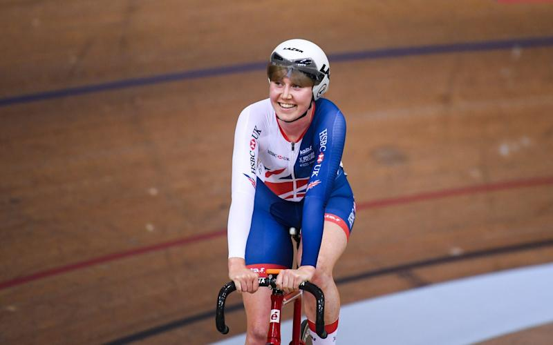 Olympic and World champion track cyclist Katie Archibald will be leading out Team Scotland for the three stage event - Sportsfile