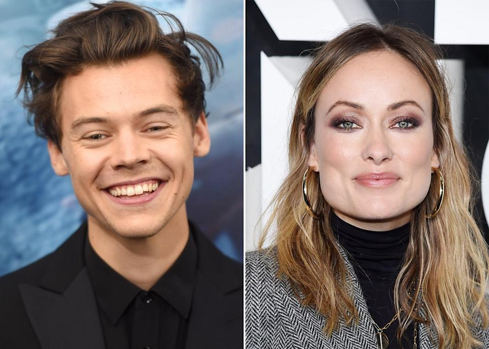 """<ul> <li><strong>What to wear:</strong> This duo's 2021 romance was unexpected but such a pleasant surprise. Transform into the famous couple by re-creating their <a href=""""http://www.popsugar.com/celebrity/harry-styles-and-olivia-wilde-kissing-in-italy-2021-pictures-48407671"""" class=""""link rapid-noclick-resp"""" rel=""""nofollow noopener"""" target=""""_blank"""" data-ylk=""""slk:steamy Italian yacht pictures"""">steamy Italian yacht pictures</a>, or dress in something that represents them individually like <a href=""""http://www.popsugar.com/fashion/harry-styles-watermelon-sugar-music-video-outfits-47481745"""" class=""""link rapid-noclick-resp"""" rel=""""nofollow noopener"""" target=""""_blank"""" data-ylk=""""slk:Harry's outfits from the &quot;Watermelon Sugar&quot; music video"""">Harry's outfits from the """"Watermelon Sugar"""" music video</a> or <a href=""""http://www.popsugar.com/fashion/Olivia-Wilde-Roberto-Cavalli-Dress-Oscars-Afterparty-2018-44636238"""" class=""""link rapid-noclick-resp"""" rel=""""nofollow noopener"""" target=""""_blank"""" data-ylk=""""slk:Olivia Wilde in this flashy cutout Oscars dress"""">Olivia Wilde in this flashy cutout Oscars dress</a>.</li> </ul>"""