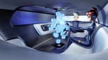 <p>Yes, somehow Mercedes believes that the car of the future will have its entertainment systems controlled by 3-D holograms. <br></p>