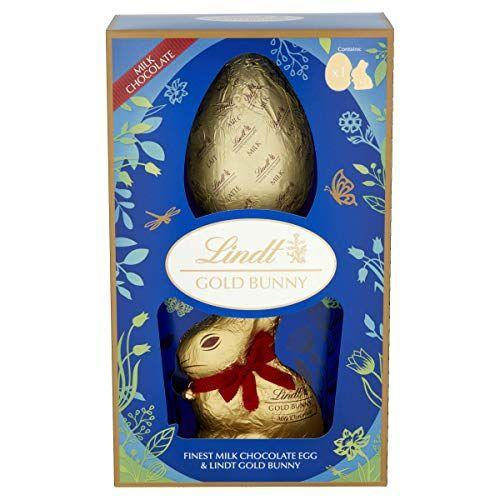 """<p><strong>Lindt</strong></p><p>amazon.com</p><p><strong>$47.99</strong></p><p><a href=""""https://www.amazon.com/dp/B083VHRJZR?tag=syn-yahoo-20&ascsubtag=%5Bartid%7C2164.g.35452335%5Bsrc%7Cyahoo-us"""" rel=""""nofollow noopener"""" target=""""_blank"""" data-ylk=""""slk:Shop Now"""" class=""""link rapid-noclick-resp"""">Shop Now</a></p><p>Can't decide between a chocolate bunny and a chocolate egg? This Lindt package has it all. </p>"""