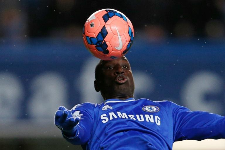 Then Chelsea's Demba Ba controls the ball during an English FA Cup match in London, in 2014