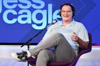 <p>Quentin Tarantino visits SiriusXM Hollywood Studios on June 30 in L.A.</p>