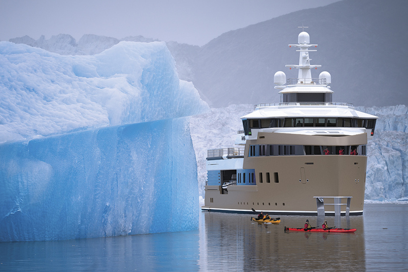 <p>With speeds of 14.5 knots, La Datcha can break up to 40 cm thick ice. Which means you can take it to the far ends of the earth and do so in style. </p>