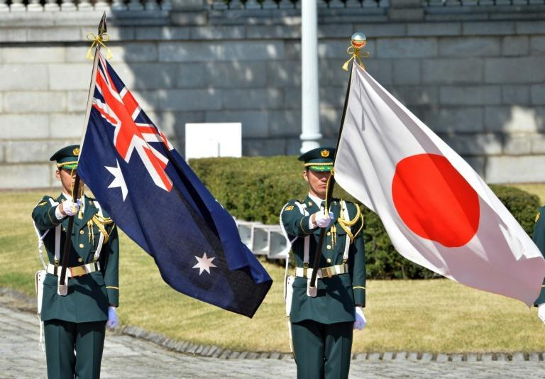 Australian Prime Minister Scott Morrison is the first foreign leader to pay an official visit to Japan since counterpart Yoshihide Suga's election in September