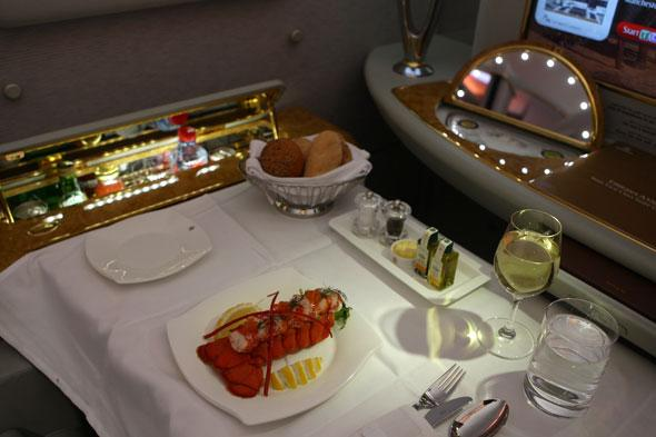 Thief stole £10,000 worth of goodies from first class flights