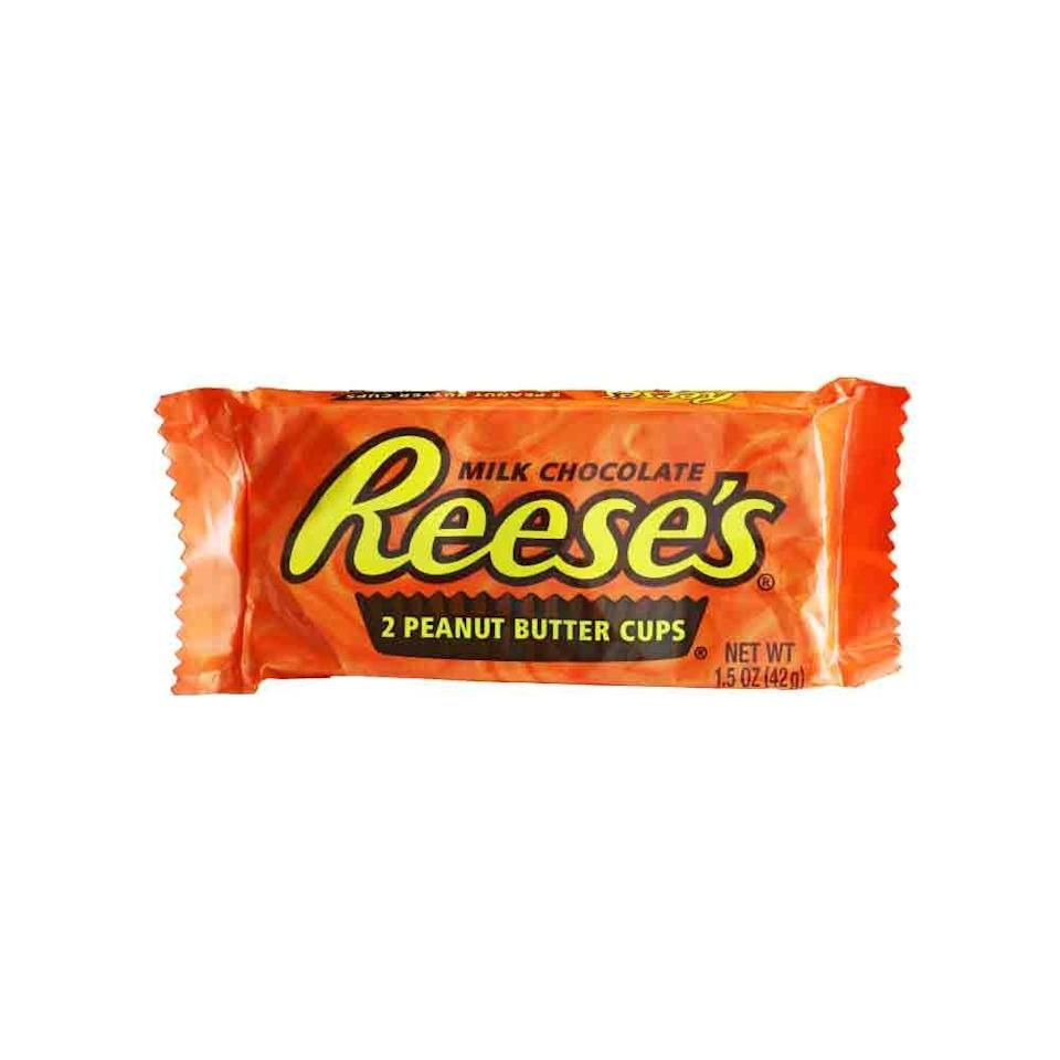 <p>Peanut butter and chocolate became the ultimate dynamic duo back in the 1970s after it rose to Hershey's best selling item in 1969. It's a candy icon for sure.</p>