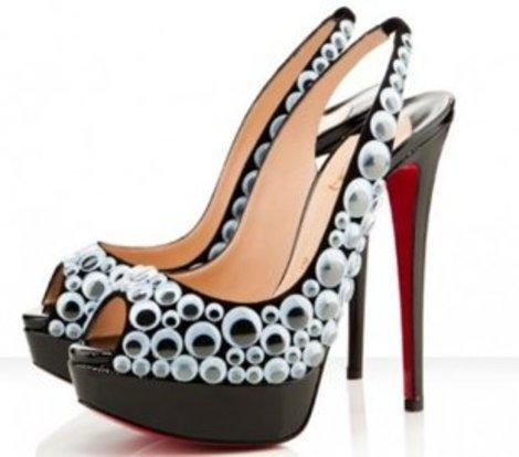 Would you pay $1,600 for Louboutin's covered in googly eyes? Neither would we.