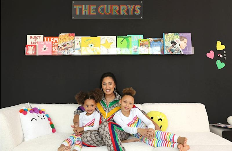 Ayesha Curry and her daughters | Flour Shop x Pottery Barn