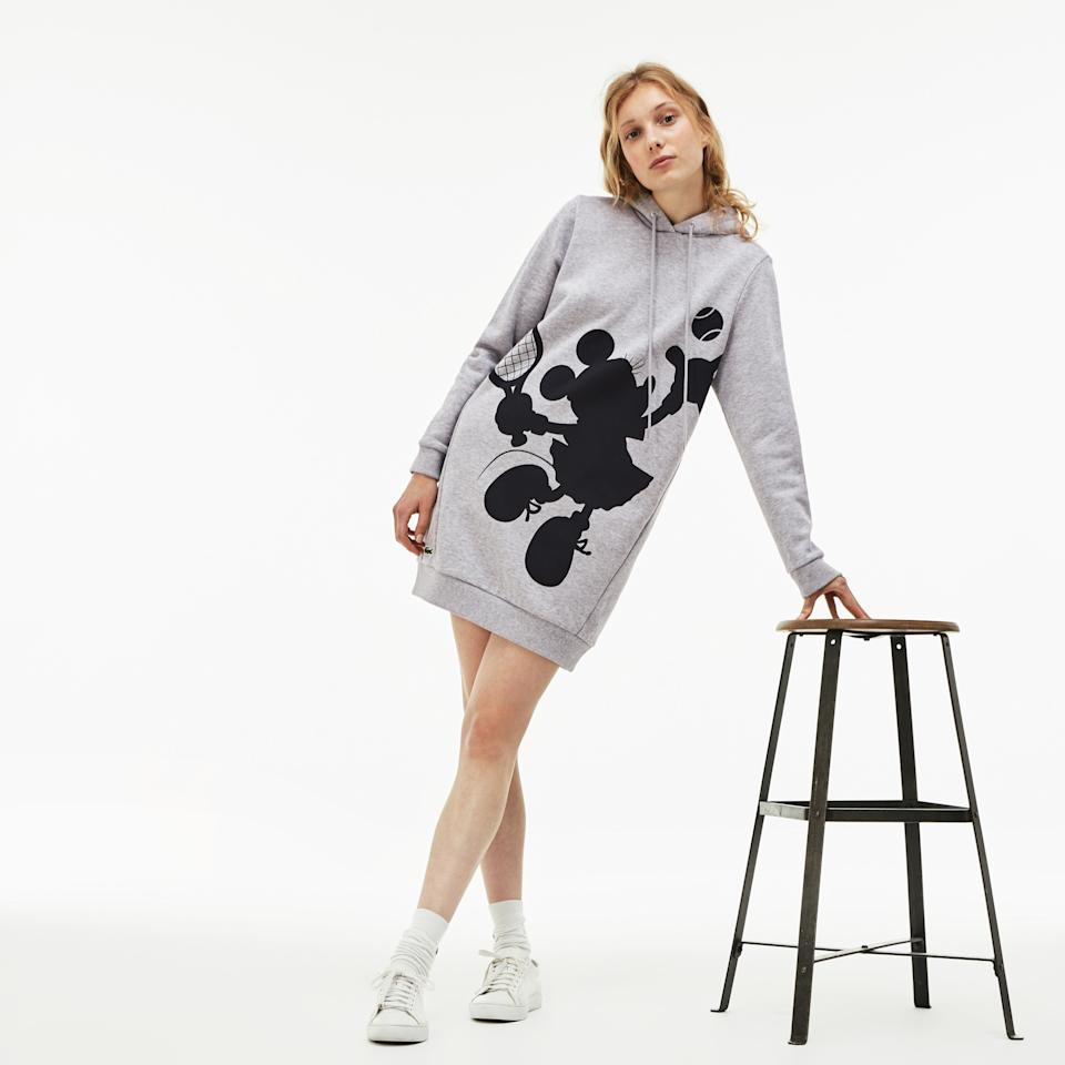 <p>The iconic duo of Mickey and Minnie Mouse are featured alongside Lacoste's memorable croc character. (PHOTOS Lacoste) </p>