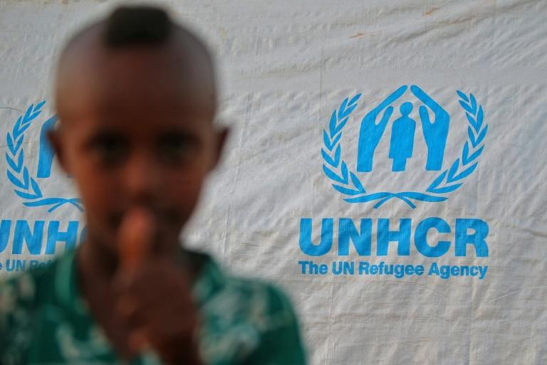 """The UN says a """"full-scale humanitarian crisis"""" is unfolding, with 36,000 people having streamed into neighbouring Sudan"""