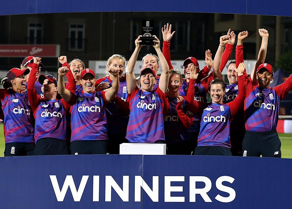 England won the multi-series (PA Wire)