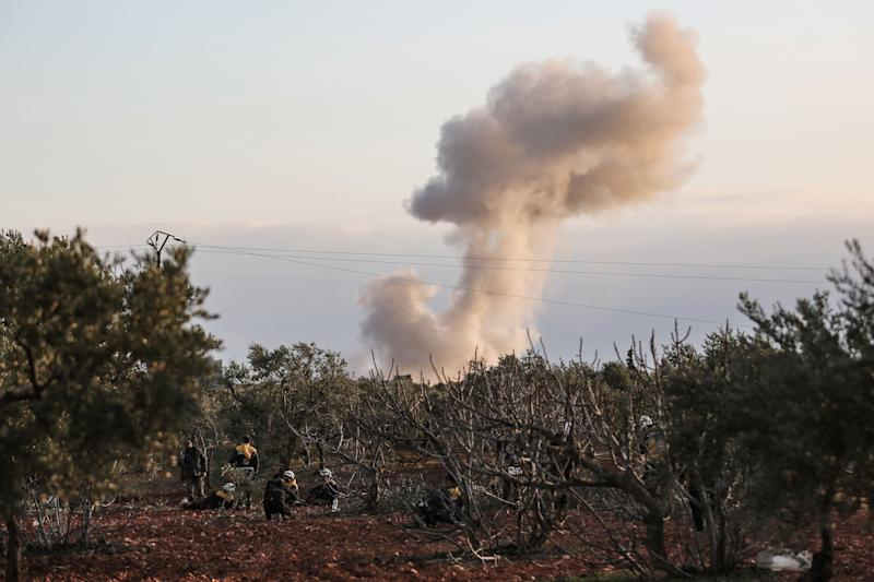 Erdogan Keen to Spare Russia Ties as Turkey Hits Syrian Forces