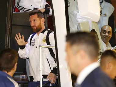 Argentina arrive in Israel for Uruguay friendly with Lionel Messi vs Luis Suarez the main attraction