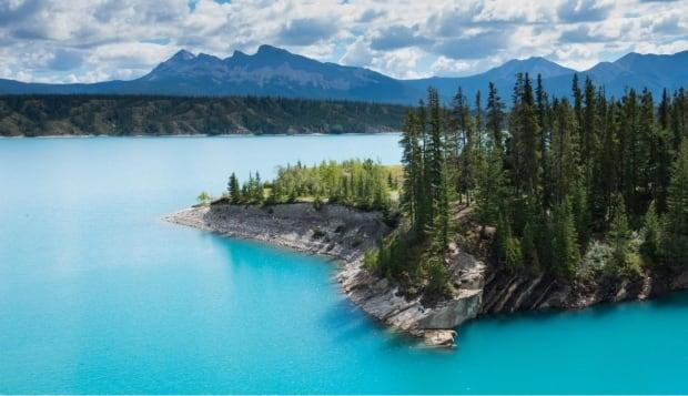 TransAlta is planning a water release Thursday to manage water elevation at Abraham Lake. (Stephen Legault - image credit)