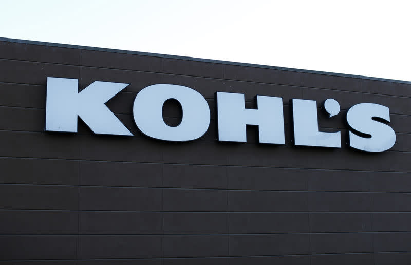 A Kohl's Department store is shown in Encinitas, California