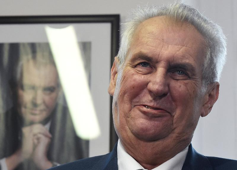 President Milos Zeman, an ally of Babis, has two attempts to name a prime minister under the Czech Republic's constitution (AFP Photo/Michal Cizek)