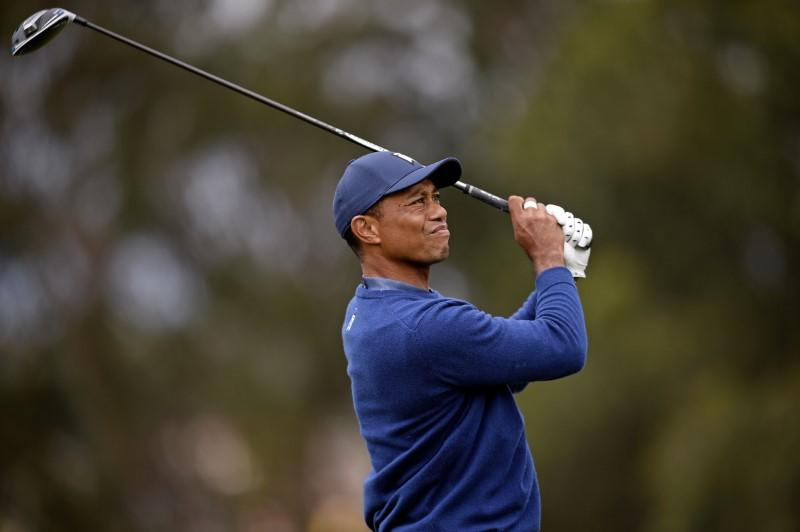 Tiger adjusting to a new normal at spectator-free PGA Championship